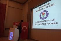 YENİŞEHİR İŞYERİ TEMSİLCİLERİ TOPLANTISI (26.12.2018)
